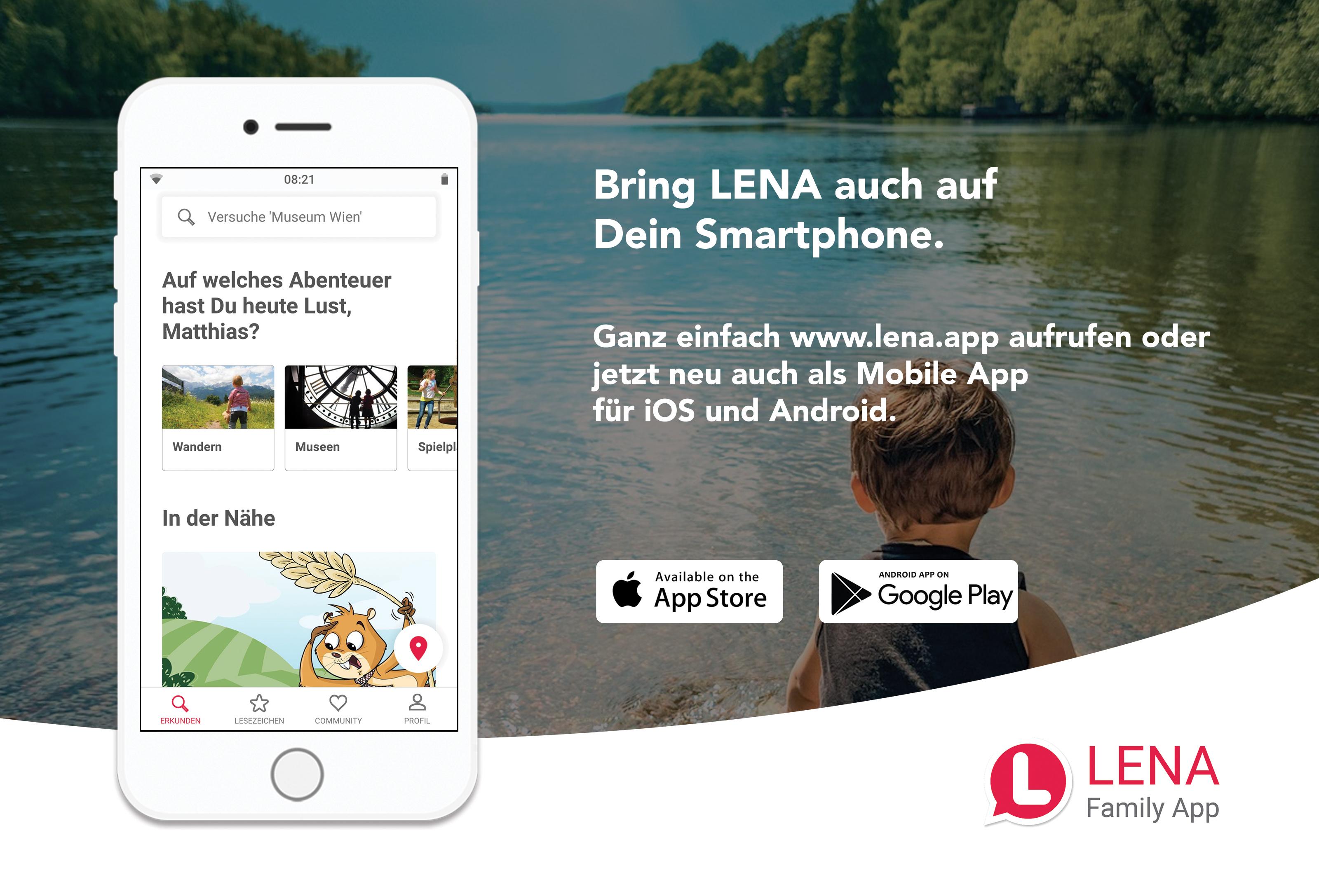 App Screenshot Österreich